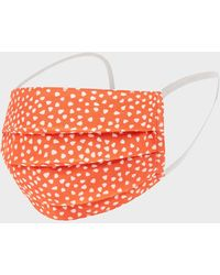 Hobbs Pack Of Two Non-medical Reusable Face Masks - Red