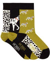 Hobbs - Dalmation Sock Set - Lyst