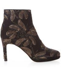 Hobbs - Black 'julietta' Embroidered Boots - Lyst