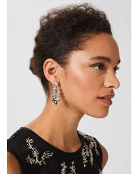 Hobbs Eve Earring - Metallic