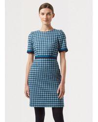 Hobbs - Elodie Wool Dress - Lyst