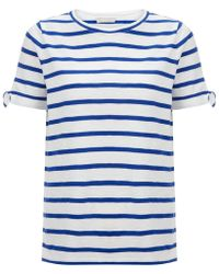 Hobbs - White 'noa' Oversized Tee Shirt - Lyst