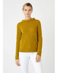 Hobbs 'audrey' Jumper - Yellow