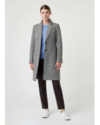 Hobbs Tilda Wool Blend Coat - Grey