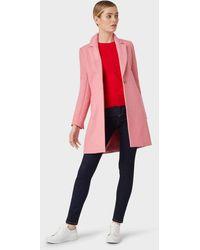 Hobbs Pink 'camellia' Coat
