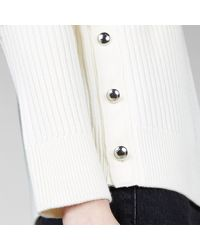 Hogan Round Neck Pullover - White