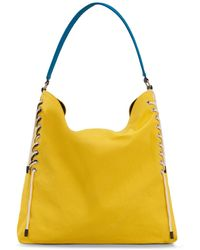 Hogan Hobo Bag Grande - Amarillo