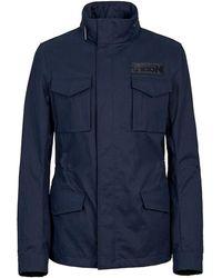 Hogan Field Jacket - Blu