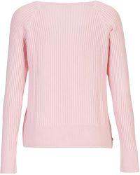 Hogan Round Neck Pullover - Pink