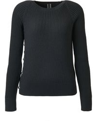 Hogan Round Neck Pullover - Black
