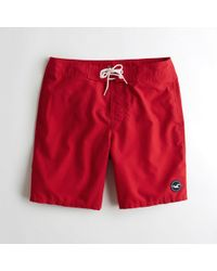 Hollister - Classic Fit Boardshorts - Lyst