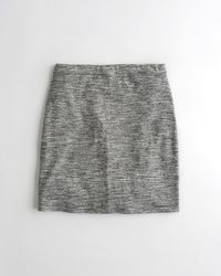Hollister - Girls Knit Bodycon Skirt From Hollister - Lyst