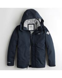 Hollister - All-weather Mesh-lined Jacket - Lyst