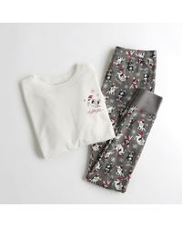 Hollister - Girls Waffle Tee Leggings Gift Set From Hollister - Lyst
