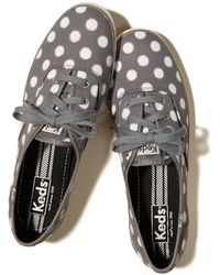 Hollister - Keds Champion Shine Dot Sneakers - Lyst