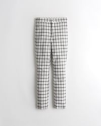 Hollister Ultra High-rise Super Skinny Trousers - White