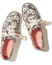 Hollister - + Keds Champion Floral Print Sneakers - Lyst