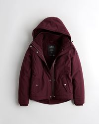 Hollister Sherpa-lined Jacket - Multicolour