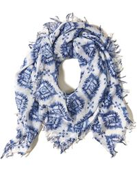 Hollister - Lightweight Printed Scarf - Lyst
