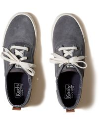 Hollister - Keds Triumph Mid Suede Sneaker - Lyst