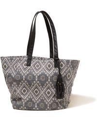 Hollister - Patterned Jacquard Tote Bag - Lyst