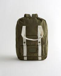 Hollister Utility Backpack - Green