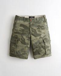 hollister cargo shorts