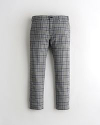 Hollister Skinny Chino Trousers - Grey