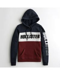 Hollister - Girls Logo Graphic Hoodie From Hollister - Lyst
