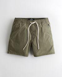 "Hollister Jogger-Shorts mit Hollister Epic Flex, 5"" - Grün"
