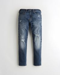 Hollister Advanced Stretch Skinny Jeans - Blue