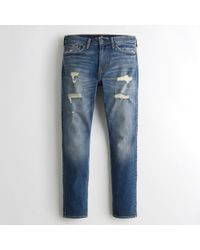 Hollister - Guys Advanced Stretch Super Skinny Jeans From Hollister - Lyst