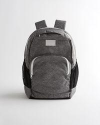 Hollister Logo Backpack - Grey