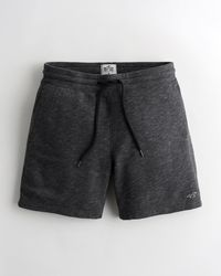 "Hollister Must-have Terry Jogger Short 7"" - Black"