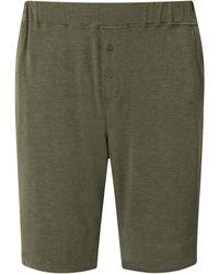 Homebody Jersey Pyjama Shorts - Green