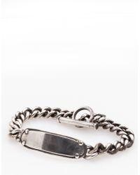 Henson - Plate Id Bracelet - Lyst