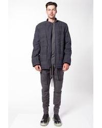 Nude:mm Nude: Mm Bomber Jacket - Gray