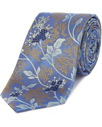 Ted Baker | Japanese Blossom Floral Tie | Lyst