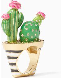 Kate Spade - Wbrue266 Cactus Ring - Lyst