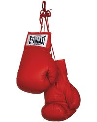 Everlast Autograph Boxing Gloves - Red