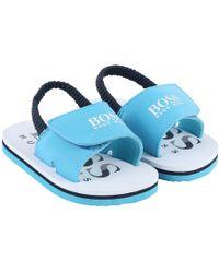 BOSS - Baby Boys Flip Flops - Lyst