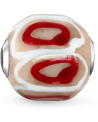 Thomas Sabo - Beige Glass Hand-crafted Africa Karma Bead - Lyst