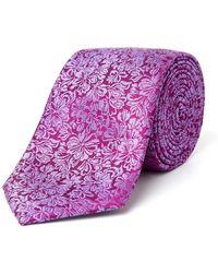 Paul Costelloe - Larkin Floral Silk Tie - Lyst