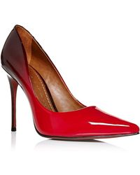 c0d3639ad7b Cristina Stiletto Heel Court Shoes - Red