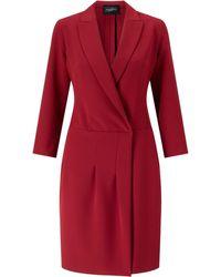 James Lakeland Crossover Dress - Red