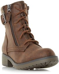 Dune - Palmers Knit Cuff Hiker Boots - Lyst
