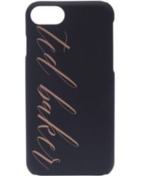 Ted Baker - Tharese Logo Iphone 66s7 Clip Case - Lyst