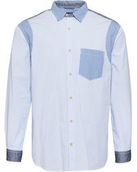 French Connection - Men's Outline Patchwork Shirt - Lyst