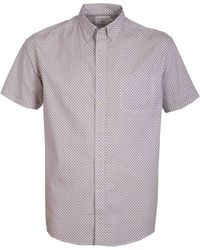 Double Two - Squiggle Print 100% Cotton Shirt - Lyst