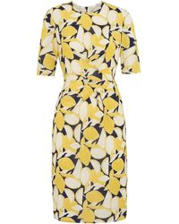 Whistles - Phoebe Lemon Print Bodycon - Lyst